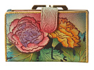 Anuschka Handbags - 1109 (Colorful Carnations)