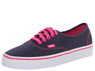 Vans - Authentic ((Pop) Dress Blues/Pink Glo) -