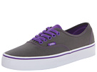Vans - Authentic ((Pop) Pewter/Electric Purple) -