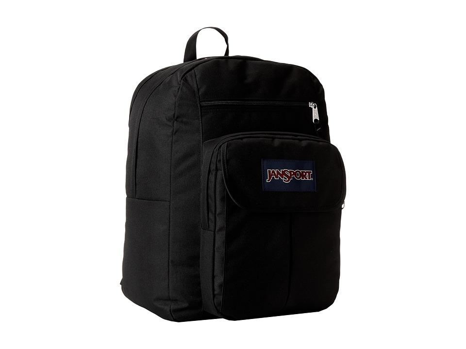 JanSport Digital Student Black/Forge Grey Backpack Bags