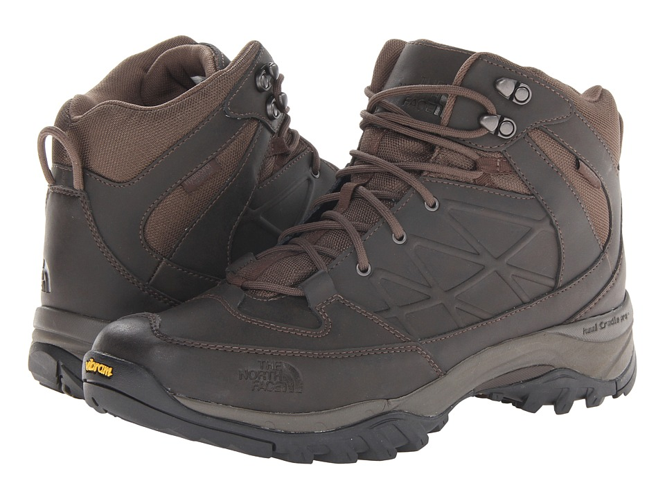 The North Face - Storm Mid WP Leather (Coffee Brown/Coffee Brown) Men