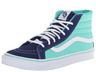 Vans - SK8-Hi Slim ((2 Tone) Twilight Blue/Cockatoo) -