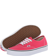 Vans Authentic Rouge Red True White