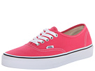 Vans - Authentic (Rouge Red/True White) -