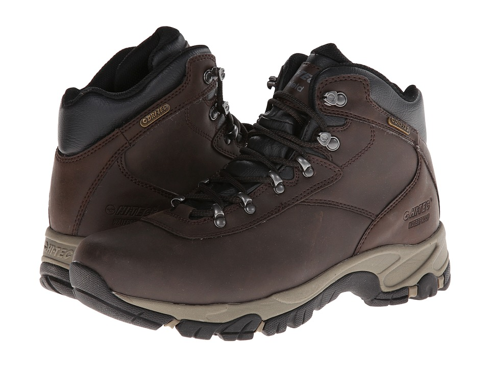 Hi-Tec - Altitude V I WP (Dark Chocolate/Light Taupe/Black) Mens Hiking Boots