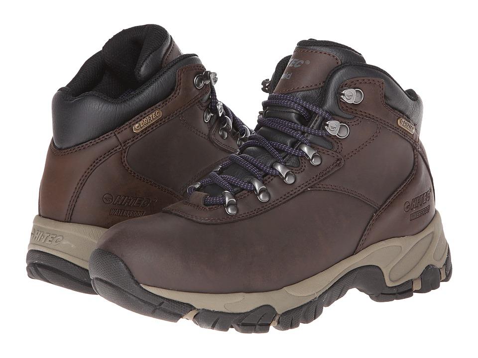 Hi Tec Altitude V I WP Dark Chocolate/Purple Womens Shoes
