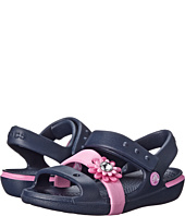 Crocs Kids - Keeley Petal Charm Sandal (Toddler/Little Kid)