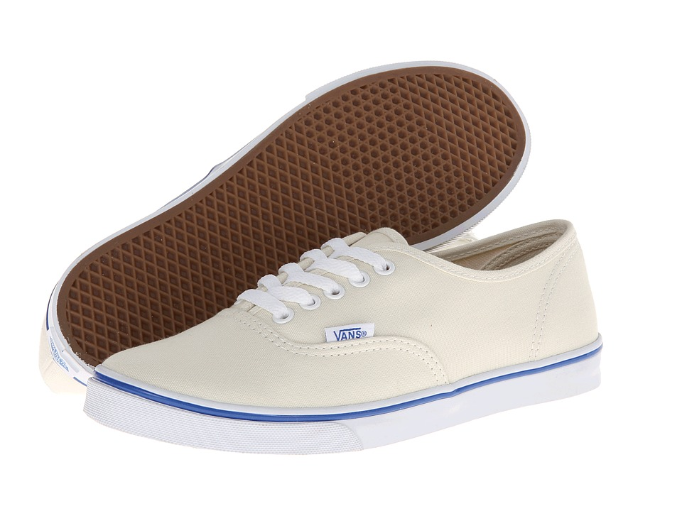 Vans Authentic Lo Pro (White/True White) Skate Shoes