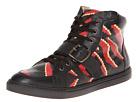 Vivienne Westwood - RUNWAY High Top Maine Tiger Trainer (Black/Marrone) - Footwear