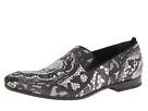 Alexander McQueen - Skull Print Slipper (Black/White) - Footwear