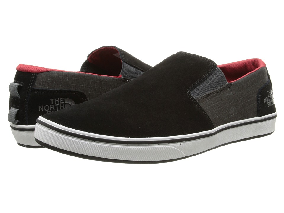 The North Face Base Camp Lite Slip On TNF Black/TNF Red Mens Shoes