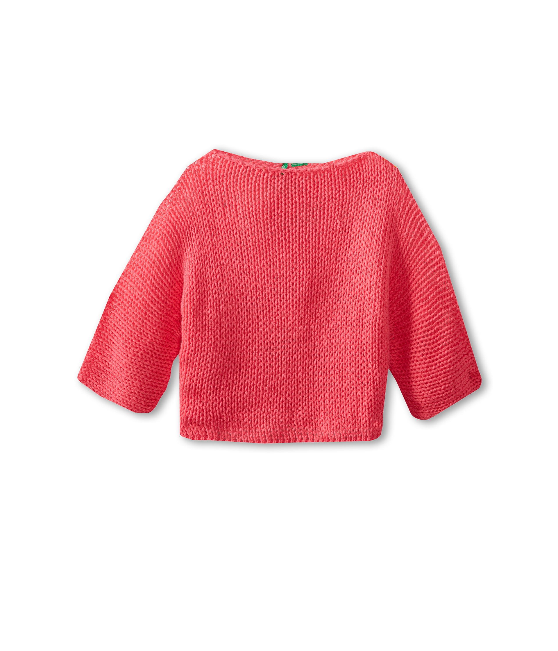 United Colors Of Benetton Kids Girls Short Cropped Knit Sweater Little