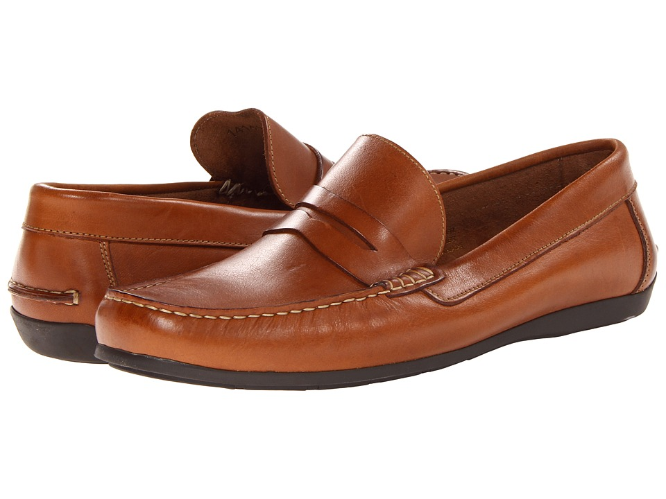 Florsheim - Jasper Penny Loafer Slip-On (Cognac Smooth) Men