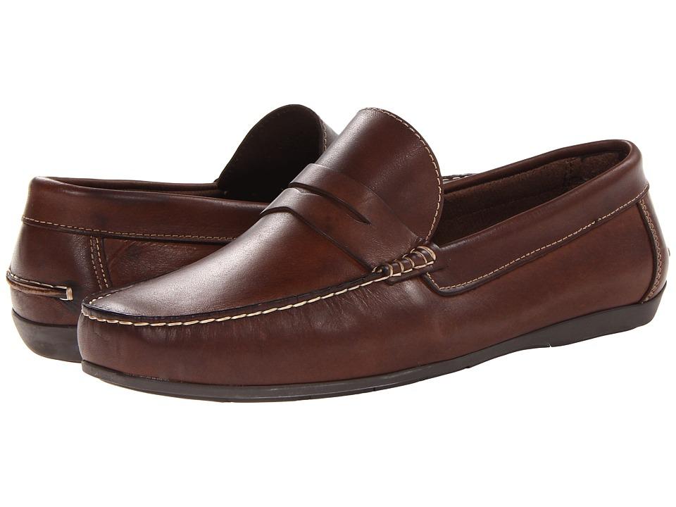 Florsheim - Jasper Penny Loafer Slip-On (Brown Smooth) Men