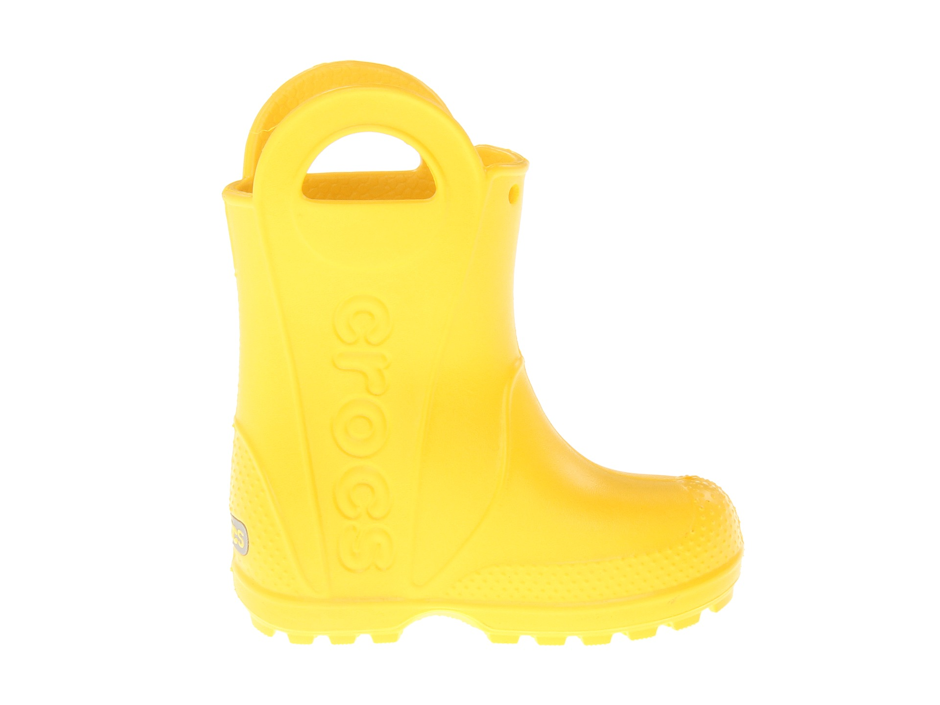 Crocs Kids Handle It Rain Boot Toddler Little Kid Yellow