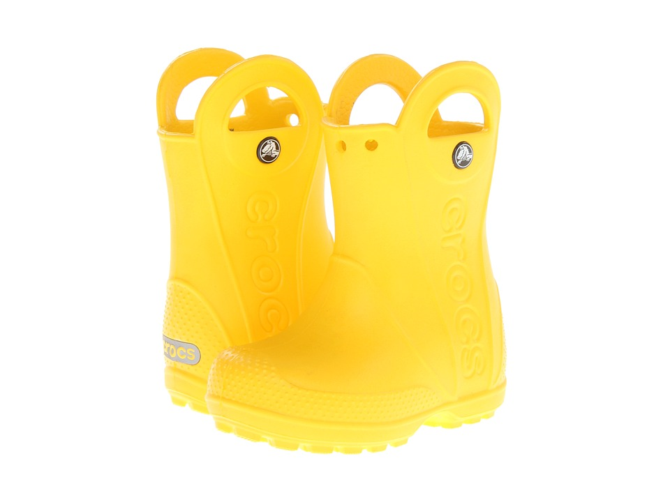 Crocs Kids - Handle It Rain Boot (Toddler/Little Kid) (Ye...
