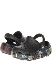 Crocs Kids - Duet Sport Splatter Graphic Clog (Toddler/Little Kid)