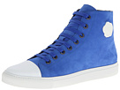 Viktor  Rolf - Suede High Top Trainer (Electric Blue) - Footwear