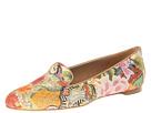 Alexander McQueen - Floral Patchwork Slipper (Rose/Light Green) - Footwear
