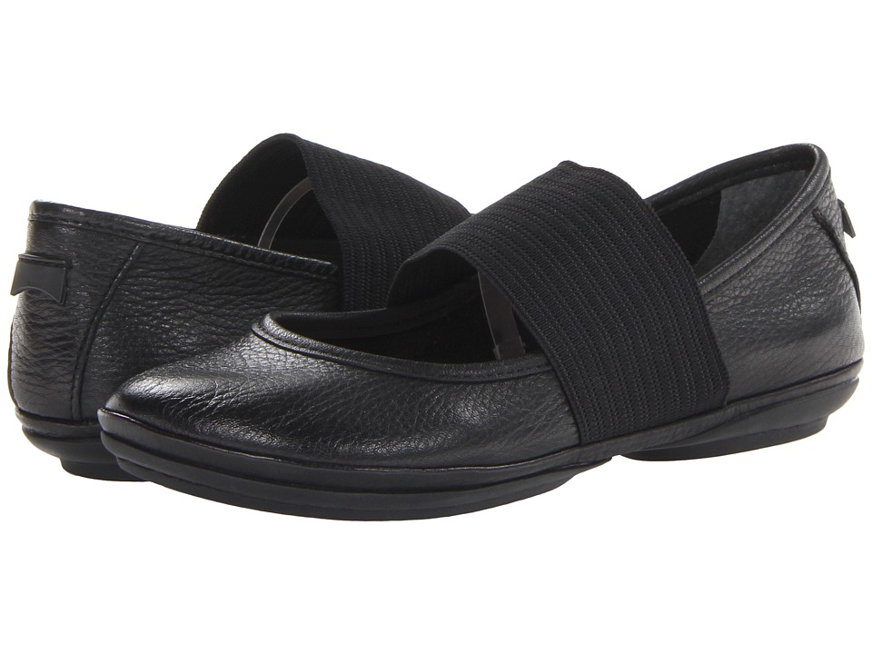 Camper Right Nina 21595 (Black 2) Maryjanes
