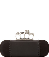 Alexander McQueen - Whipstitch Leather Knucklebox Clutch