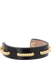 Alexander McQueen - Rope/Leather Bracelet Bridle