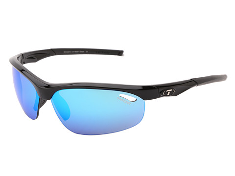 Tifosi Optics Veloce™ Mirrored Golf Interchangeable - Gloss Black/Clarion Blue/GT/EC Lens
