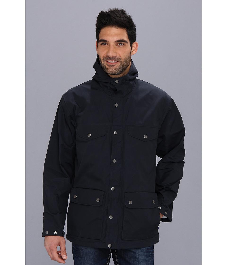 Fj llr ven Greenland Jacket Dark Navy Mens Coat