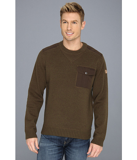 Fjällräven Torp Sweater - Dark Olive
