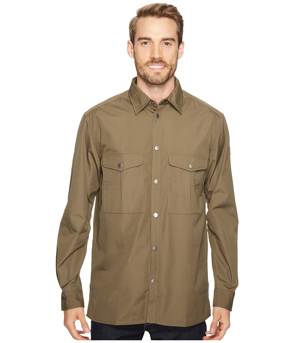 Fjallraven - Greenland Shirt (Tarmac) Mens Long Sleeve Button Up