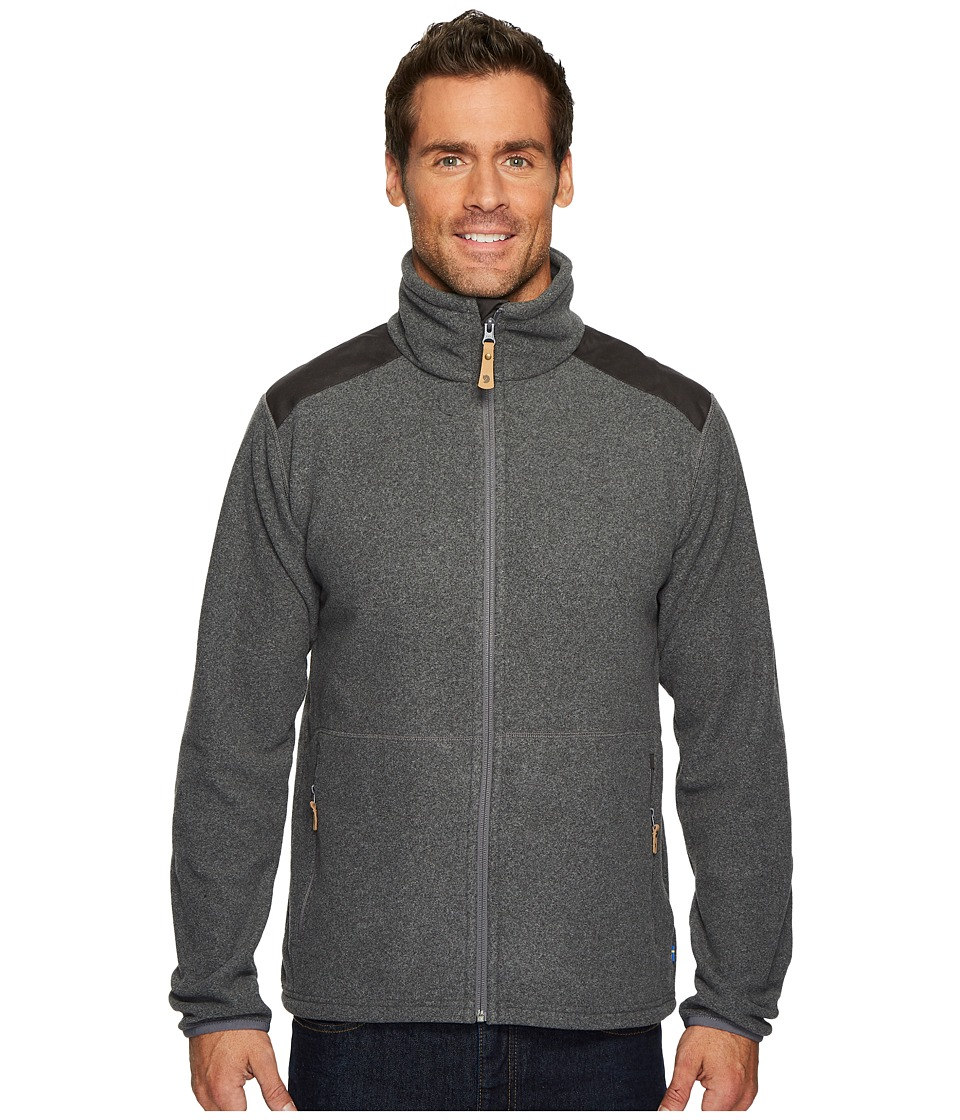 Fjallraven - Sten Fleece (Dark Grey) Mens Coat