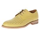 Paul Smith - Frank Perforated Captoe (Yellow) - Footwear