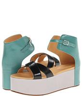 MM6 Maison Margiela - Colorblock Platform Sandals