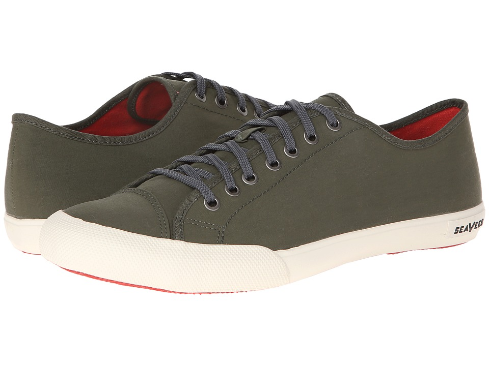 SeaVees - 08/61 Army Issue Low Nylon (Military Olive) Mens Lace up casual Shoes