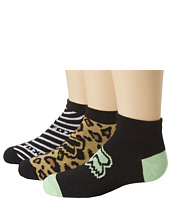 Fox - Fierce Ankle Socks 3-Pair Pack