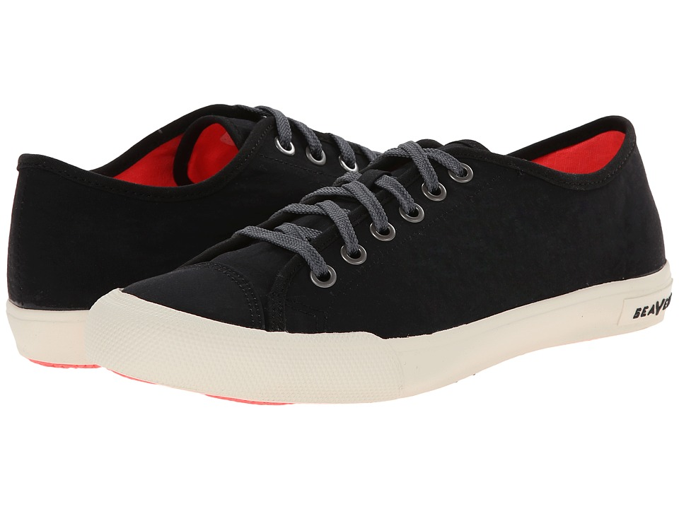 SeaVees - 08/61 Army Issue Low Nylon (Black) Womens Shoes