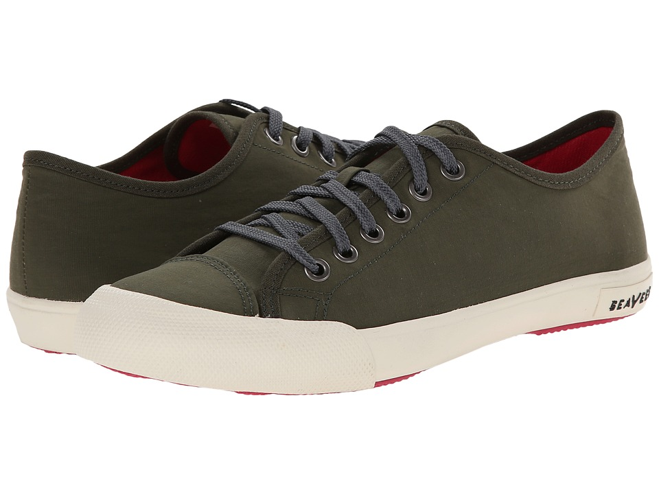 SeaVees 08/61 Army Issue Low Nylon (Olive) Women's Shoes
