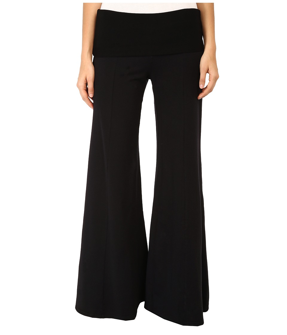 XCVI Cheviot Wide Leg Pant (Black) Women's Casual Pants