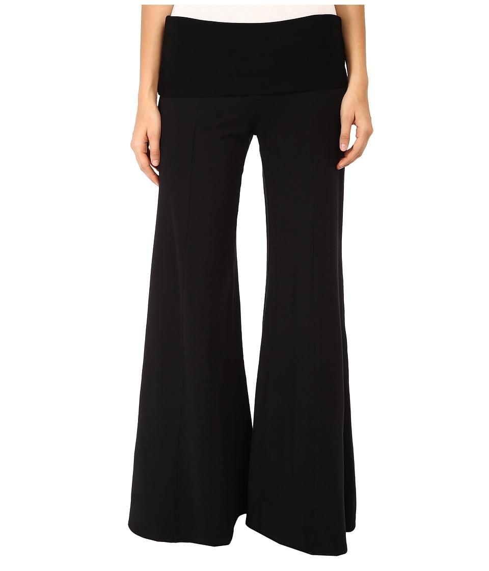 XCVI - Cheviot Wide Leg Pant (Black) Women's Casual Pants