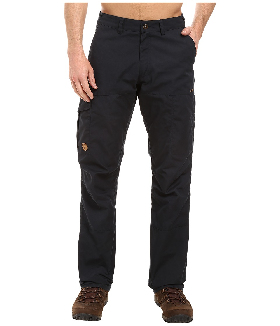 Fjallraven - Karl Trousers (Dark Navy) Mens Casual Pants