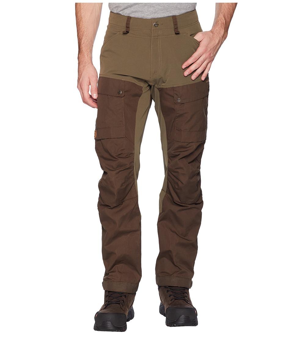 Fjallraven - Keb Trousers (Tarmac) Mens Casual Pants