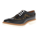 DSQUARED2 - Tudor Laced Up Oxford (Black) - Footwear