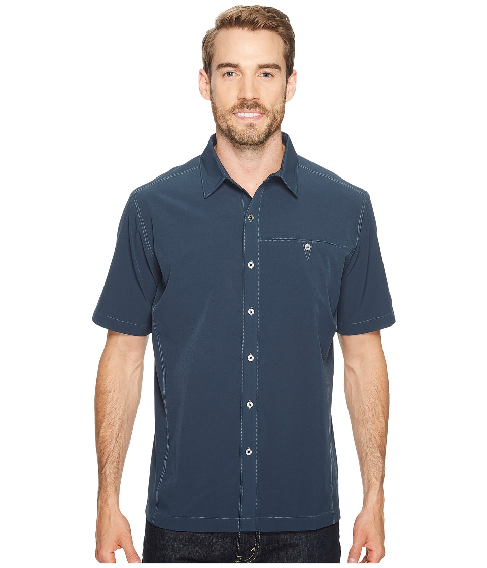 KUHL - Renegade Shirt (Pirate Blue) Mens Short Sleeve Button Up
