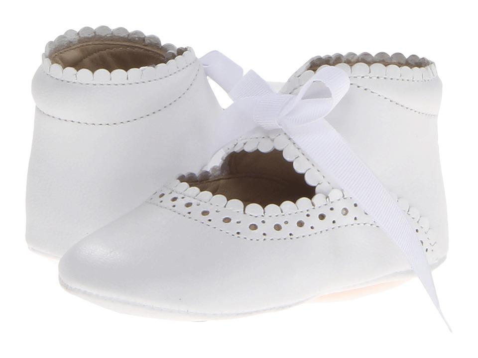 Elephantito Sabrinas (Infant/Toddler) (White) Girls Shoes