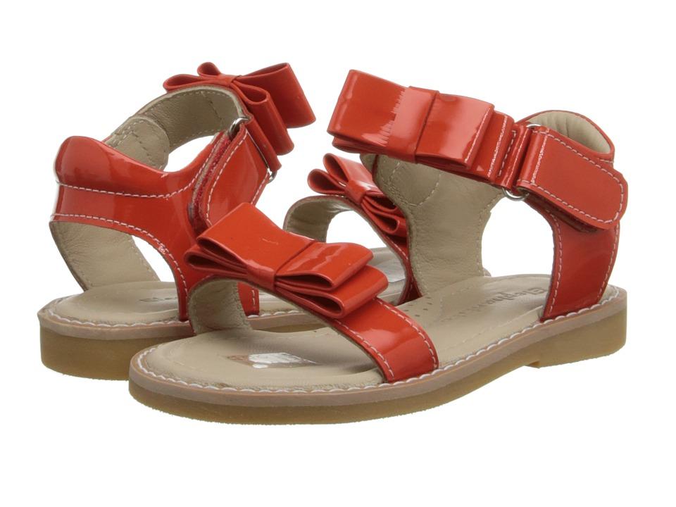Elephantito Nicole Sandal Toddler/Little Kid Poppy Red Girls Shoes