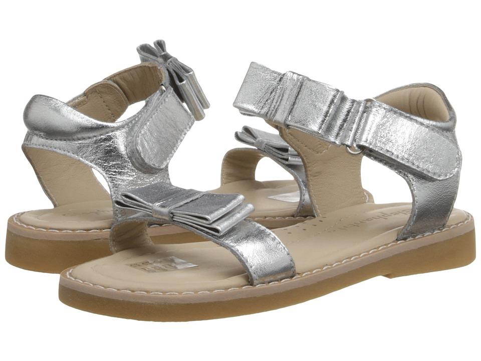 Elephantito Nicole Sandal Toddler/Little Kid Silver Girls Shoes
