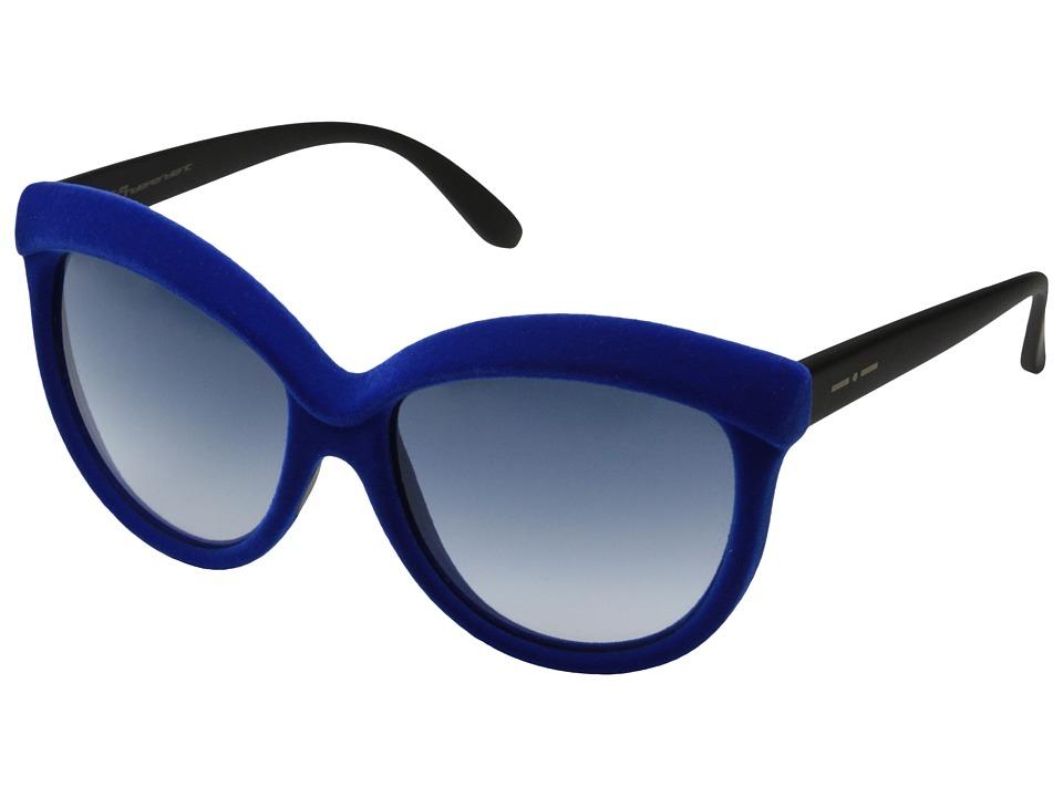 Italia Independent 0092V Blue Velvet Fashion Sunglasses