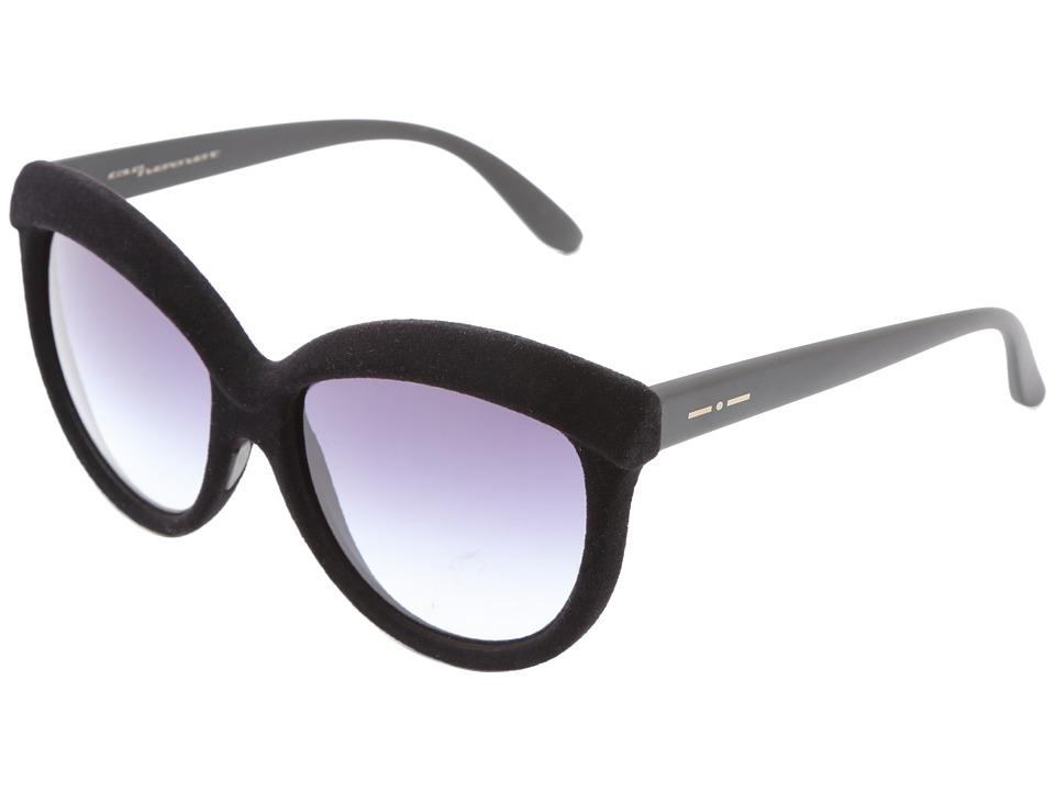 Italia Independent 0092V Black Velvet Fashion Sunglasses
