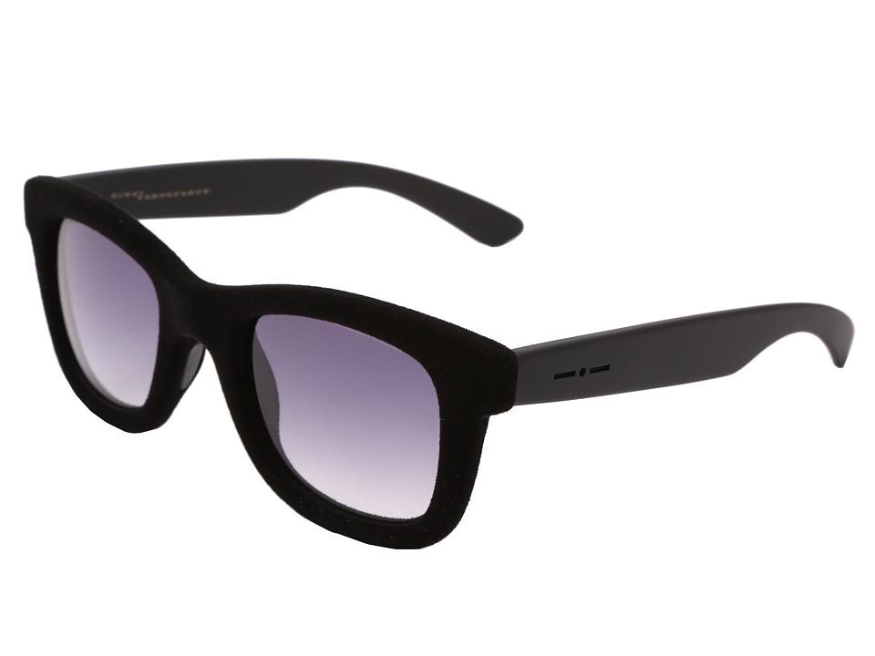Italia Independent 0090V Black Velvet Fashion Sunglasses