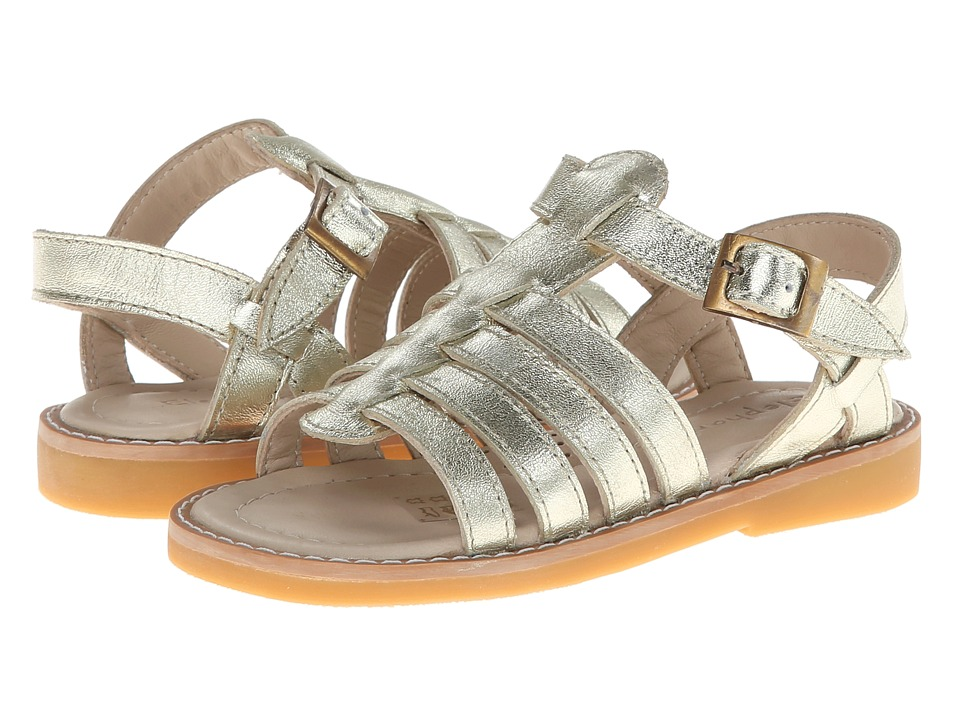 Elephantito Capri Sandal Toddler/Little Kid/Big Kid Gold Girls Shoes